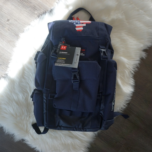 Under Armour Other - UNDER ARMOUR PROJECT ROCK REGIMENT BACKPACK USA
